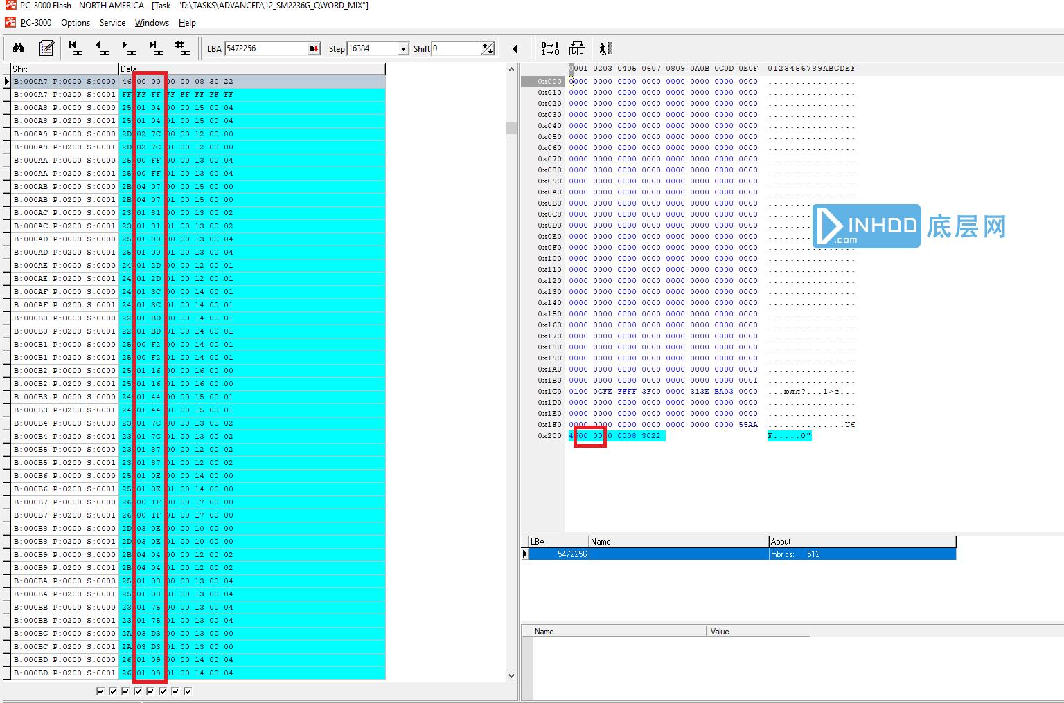 PC3000 Flash慧荣SM2236G主控CF卡电脑不认的数据恢复